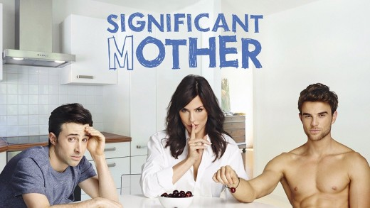 Significant Mother -- Image Number: SGM1_KeyArt.jpg -- Pictured (L-R): Josh Zuckerman as Nate, Krista Allen as Lydia and Nathaniel Buzolic as Jimmy -- Photo: © 2015 The CW Network, LLC. All rights reserved.