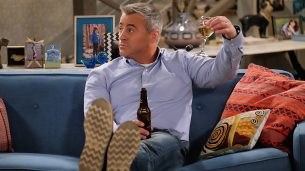 MAN WITH A PLAN stars Matt LeBlanc in a comedy about a contractor who starts spending more time with his kids when his wife returns to work, and he discovers the truth every parent eventually realizes: their little angels are maniacs. After football ends in October, MAN WITH A PLAN will be broadcast Mondays (8:30-9:00 PM, ET/PT) on the CBS Television Network.  Photo: Darren Michaels/CBS  2016 CBS Broadcasting, Inc. All Rights Reserved.